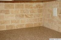 tumbled travertine subway tile | Updating the House ...