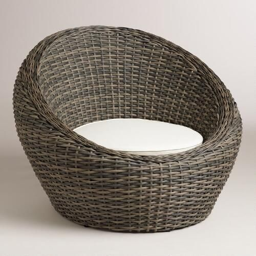 AllWeather Wicker Formentera Egg Outdoor Chair  Chair