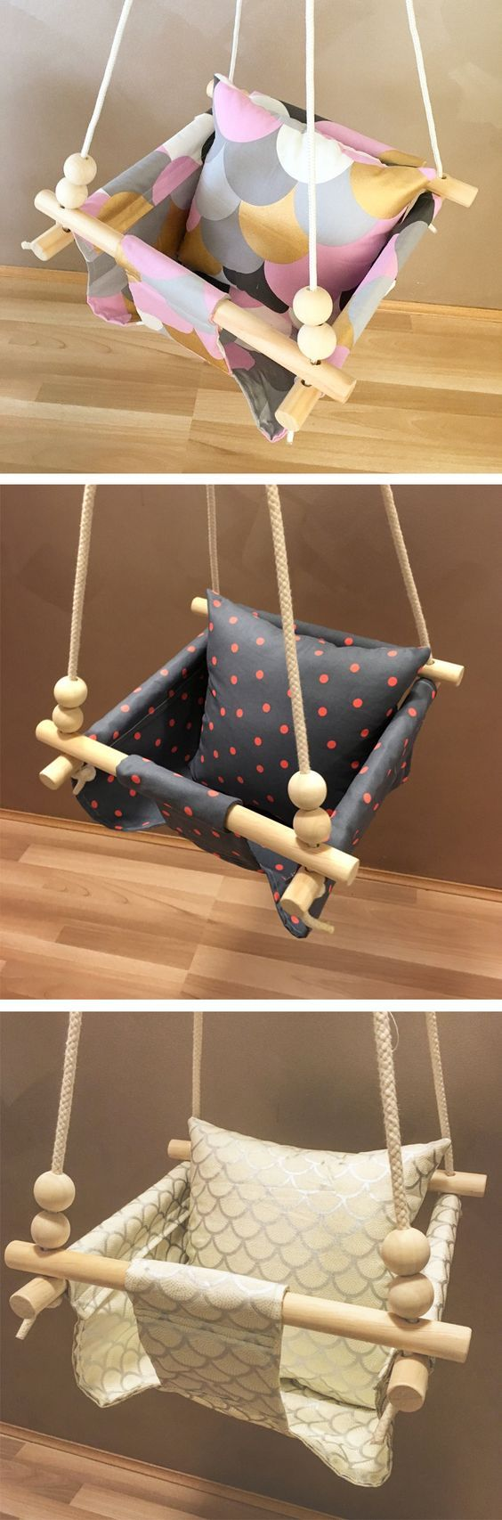 baby chair swing pink curtis dark brown leather recliner club 25+ best swings ideas on pinterest | burlap baby, diy gift for boy and handmade kids ...