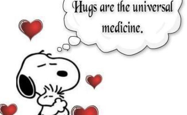 Snoopy Hugs Positive Sayings Pinterest Snoopy Hug