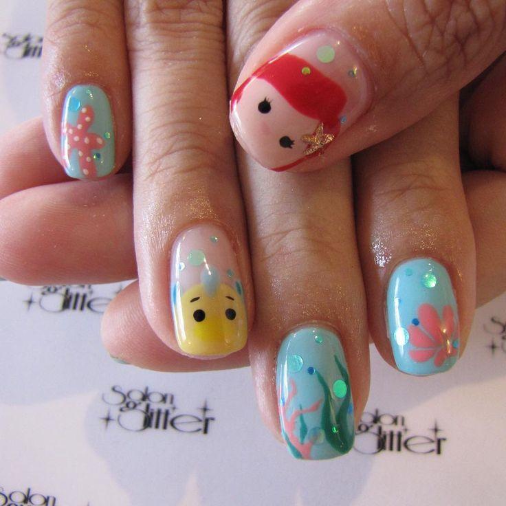 17 Best ideas about Princess Nail Designs on Pinterest