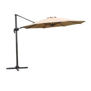 parasol excentre en aluminium cm