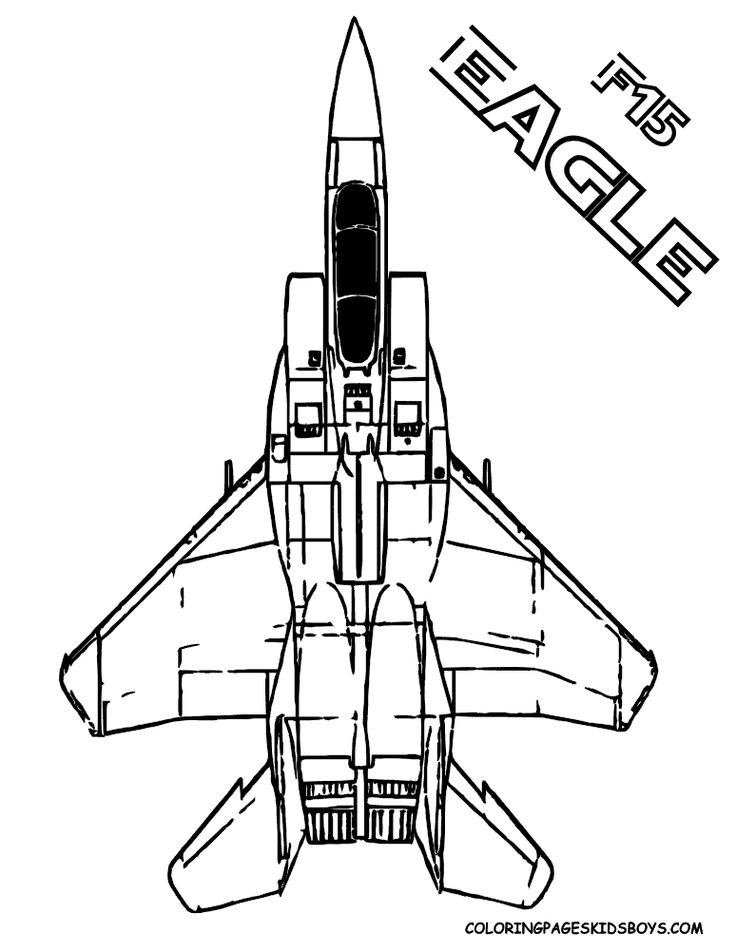 F-15 Eagle Air Force Airplane (Mach 2.5) You Can Print Out