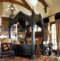 Gothic Victorian bedroom