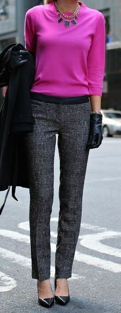 perfect work outfit – minus the gloves