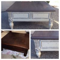 Chalk painted Annie Sloan coffee table | Home decor ...
