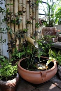 Best 25+ Mini pond ideas on Pinterest | Container fish ...