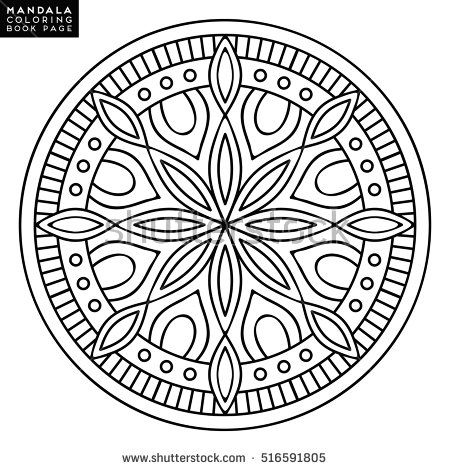 1000+ ideas about Mandala Coloring Pages on Pinterest