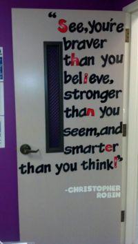 Quotes on a classroom door? | Classroom ideas | Pinterest ...