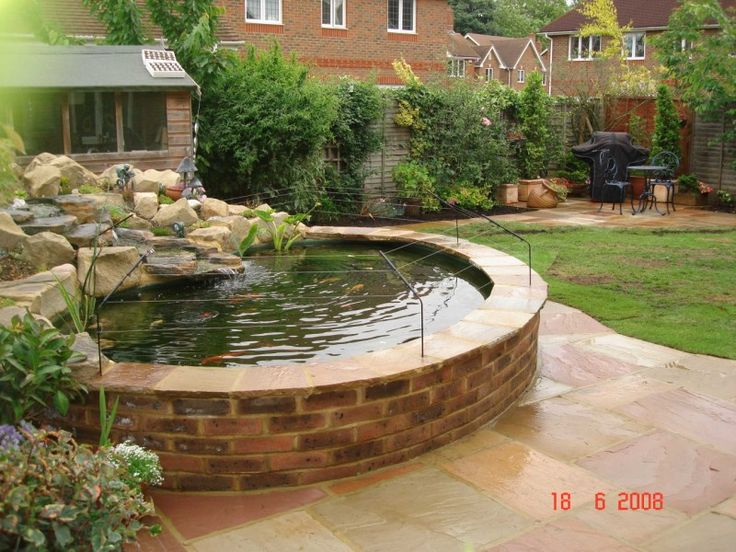 The 25 Best Ideas About Raised Pond On Pinterest Fish Pond