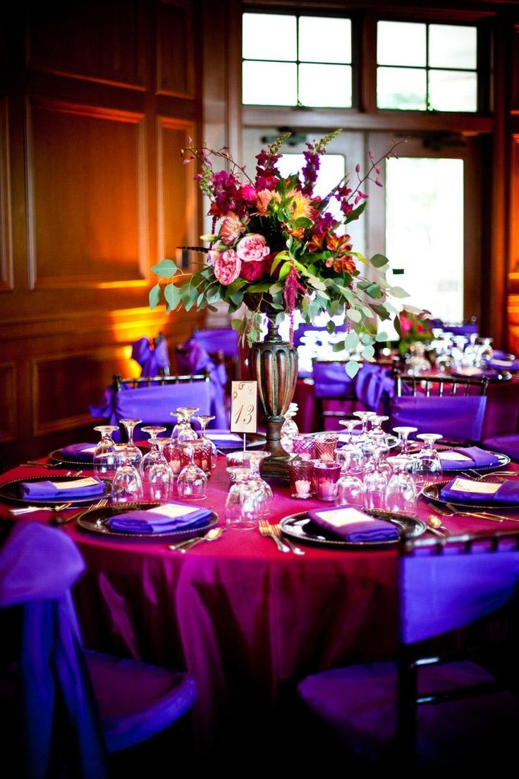 royal blue chair sashes dorothy draper chairs 24 best images about wedding receptions pink & purple on pinterest | wedding, and ...