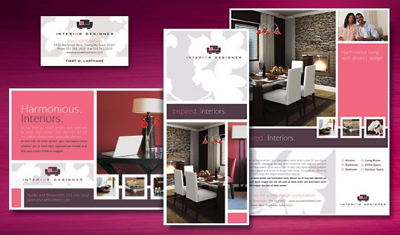 Professional Flyers Interior Design Business A Makeover With