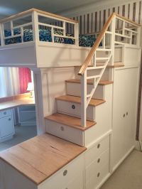 bunk bed closet underneath | Roselawnlutheran
