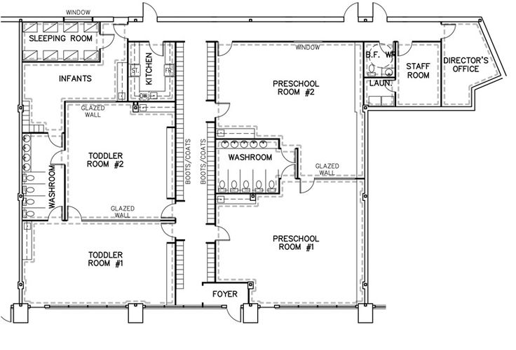 1000+ Images About Preschool/daycare Floor Plans On