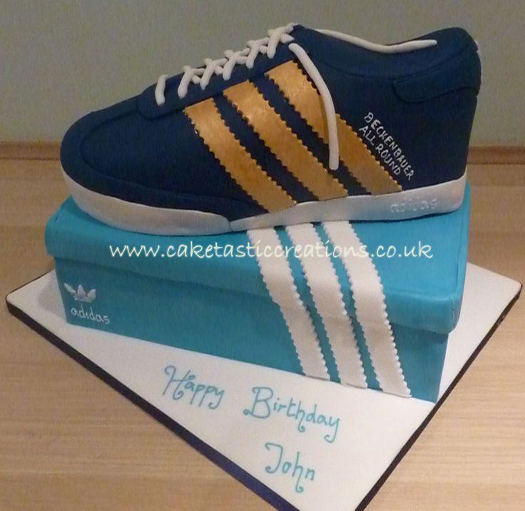 Adidas Trainer Cake  Cakes  Pinterest  Adidas Trainers