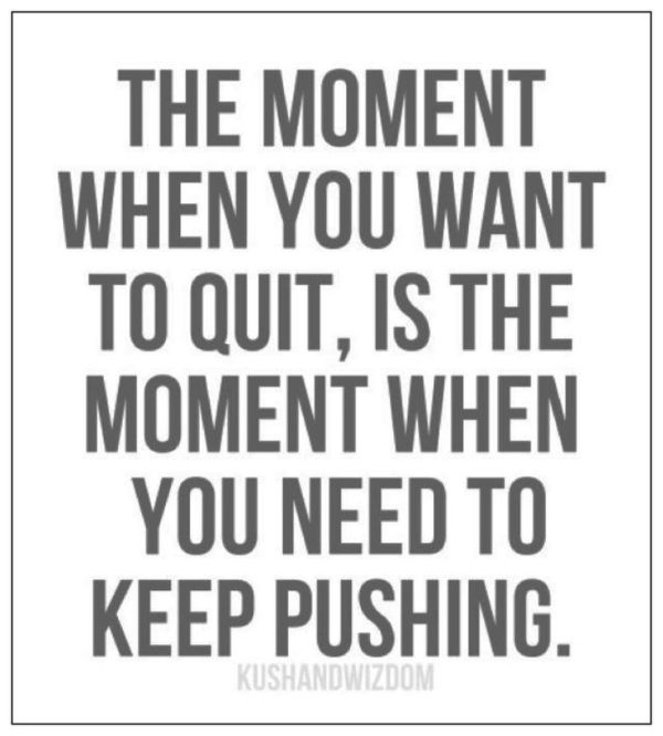 Image result for motivational quotes don't fucking quit