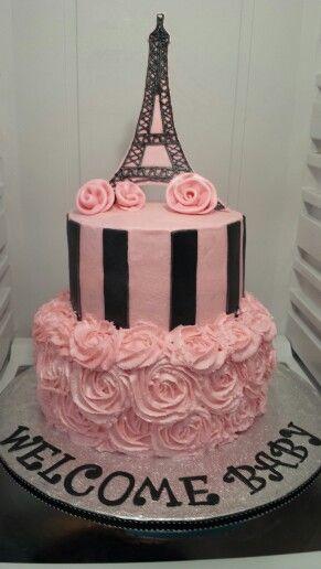 25 Best Ideas About Paris Theme Cakes On Pinterest