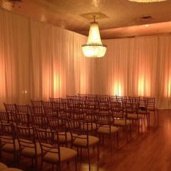 Wedding Chair Covers Pinterest Rustic Wood Dining Chairs Uplight Your Ceremony! #uplighting #wedding #weddingdj | Uplighting Ideas Romantic ...