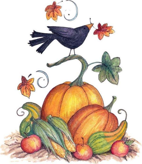 clip art - fall autumn