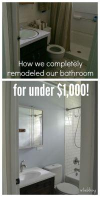 Best 25+ Inexpensive Bathroom Remodel ideas on Pinterest