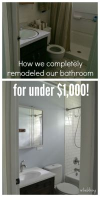 17 Best ideas about Budget Bathroom on Pinterest | Budget ...