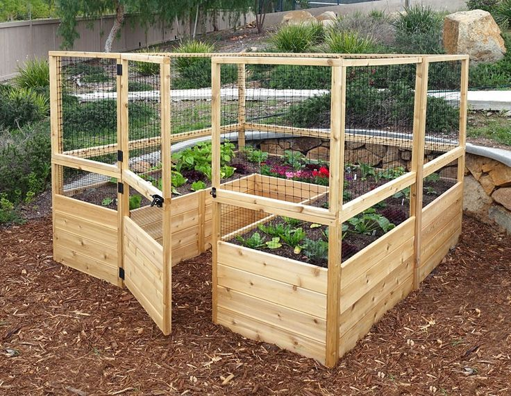 25 Best Ideas About Raised Vegetable Garden Beds On Pinterest