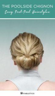 ideas pool hairstyles