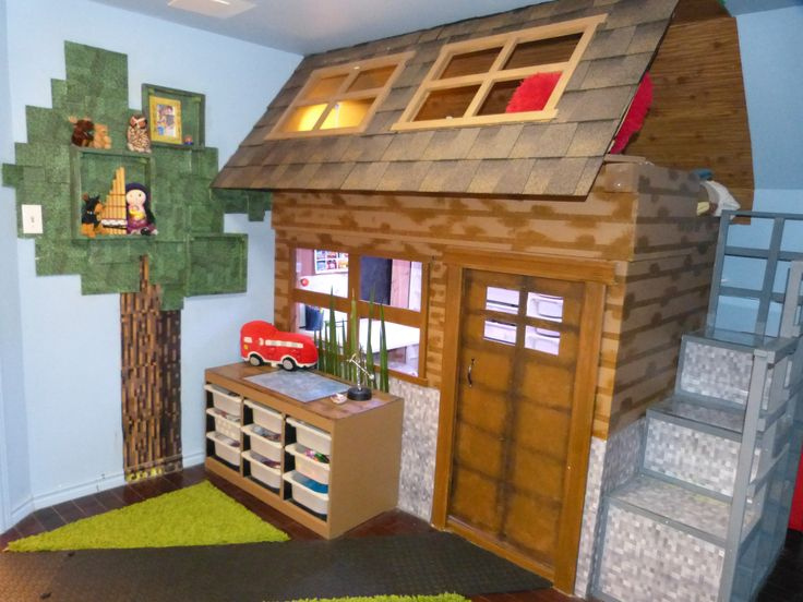 How To Build A Bunk Bed In Minecraft WoodWorking