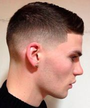 fade haircut men