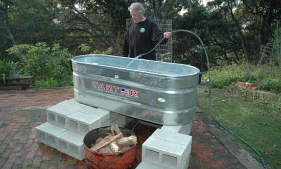 Make A Solar Hot Tub In One Day For 300 To Share
