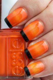 1000 ideas orange nail polish