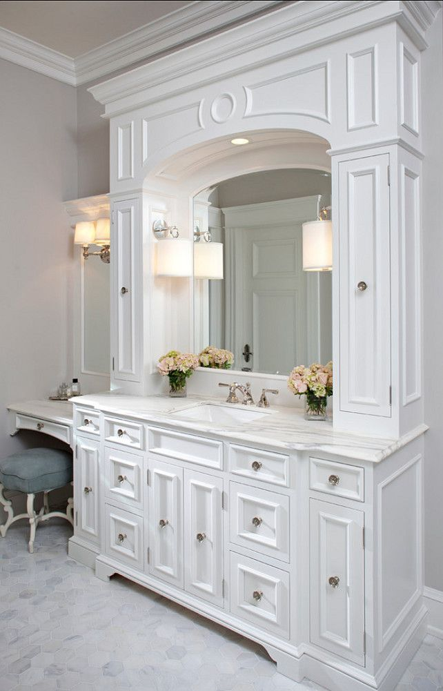 Best 25 Master Bathroom Vanity ideas on Pinterest  Master bath Double vanity and Master bathrooms