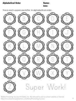 1000+ ideas about Alphabet Worksheets For Kindergarten on