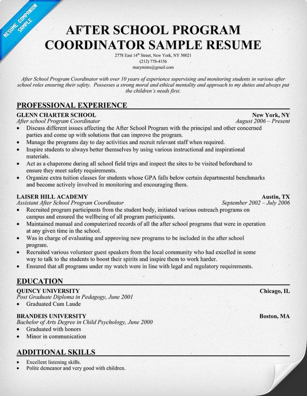 36 Best Images About Resume Samples On Pinterest Cover