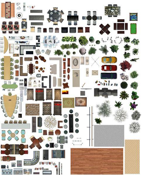 Texture Psd Plan View Floor Photoshop Pinterest