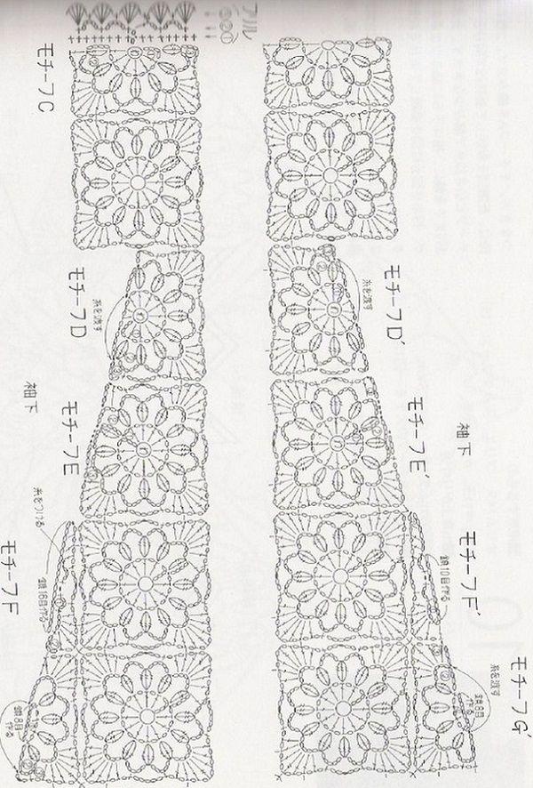 1000+ images about Crochet Motifs & Squares on Pinterest