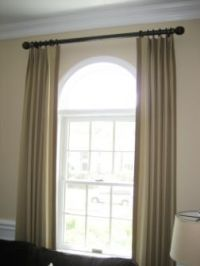 1000+ ideas about Arched Window Curtains on Pinterest ...