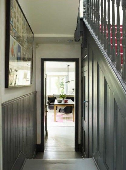Victorian House Dulwich London Tongue  groove panelling