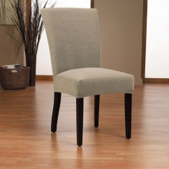 Stretch Dining Chair Covers Canada Reclining Accent 25 Best Images About Beige Chair, Loveseat, Sofa Slipcovers - Beautiful Home Decor On Pinterest ...