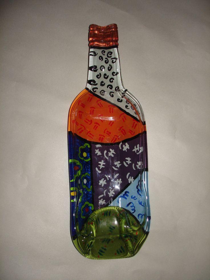 19 Best Images About Vidrio Pintado On Pinterest Bottle
