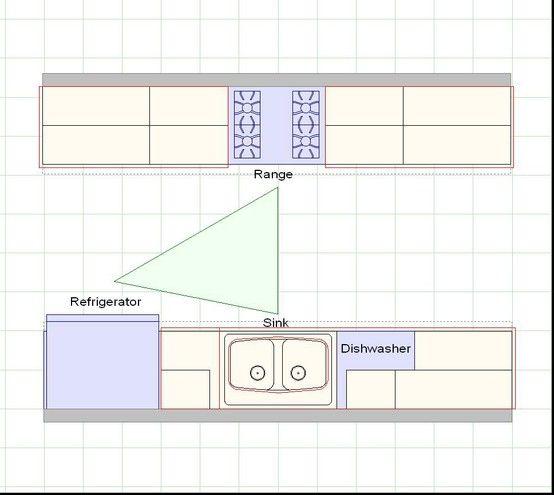 galley kitchen design layout Best 25+ Galley kitchen layouts ideas on Pinterest