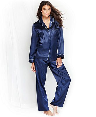Morgan Taylor Satin Pajama Sets And Satin Pajamas On Pinterest