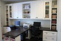 DIY - Dual Office desk | make my house a home | Pinterest ...