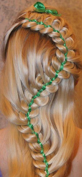 38 Best Images About St Patrick's Day Hairstyles On Pinterest