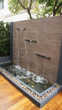 17 Best ideas about Wall Water Features on Pinterest ...