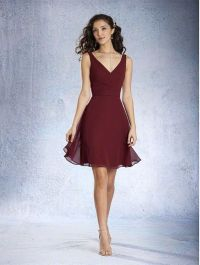 25+ best ideas about Burgundy Bridesmaid Dresses on ...