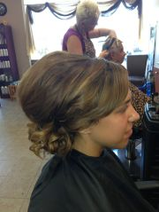 maid of honor updo updos