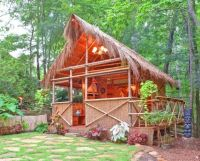 1000+ images about Backyard BBQ hut on Pinterest | Tiki ...