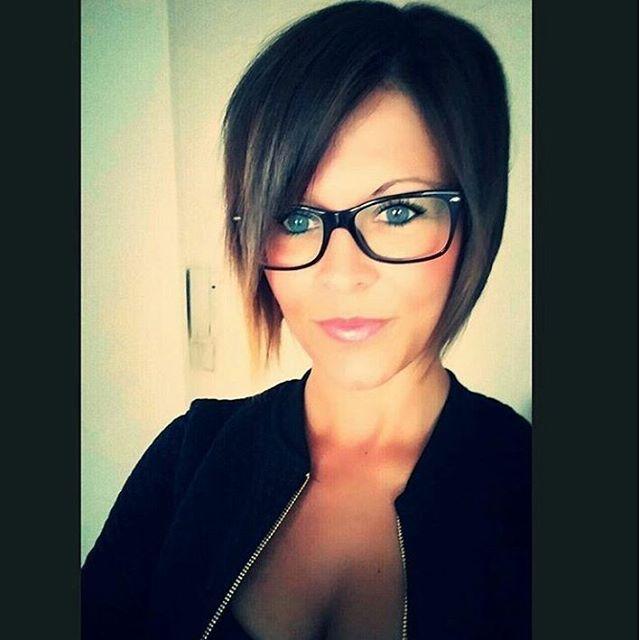 59 Besten Frisuren Mit Brille Bilder Auf Pinterest