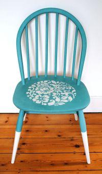 25+ best ideas about Chalk Paint Chairs on Pinterest